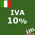 Iva 10% icon