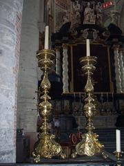 2009.08.02-016 chandeliers dans l'église Saint-Nicolas