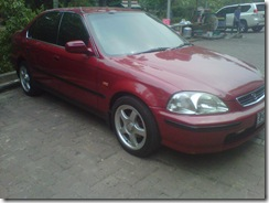 HONDA CIVIC FERIO 1.6 AT Merah Metalik 1998 (Cash/Kredit)