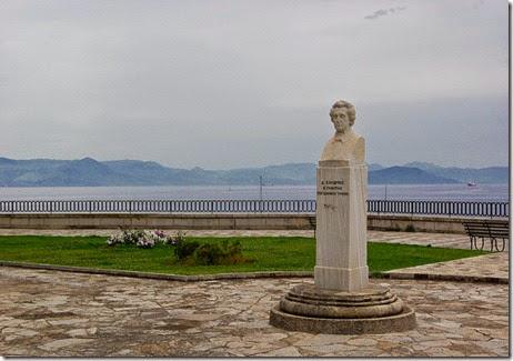 Dionysios Solomos corfu