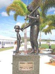 Florida 2013 Ted Williams stature at JetBluePark2