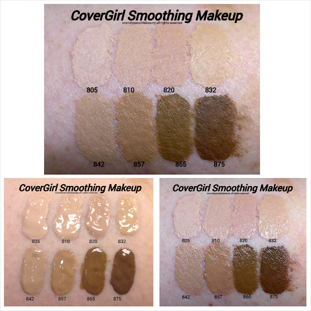CoverGirl UltraSmooth Foundation & Ultra Smoothing Applicator; Review & Swatches of Shades