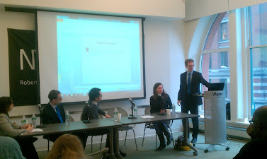 Social Media and Hurricane Sandy panel, November 27, 2012