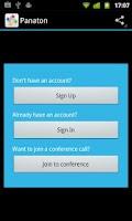 Screenshot of Panaton Conferencing
