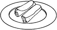 Tacos de canasta -Pina