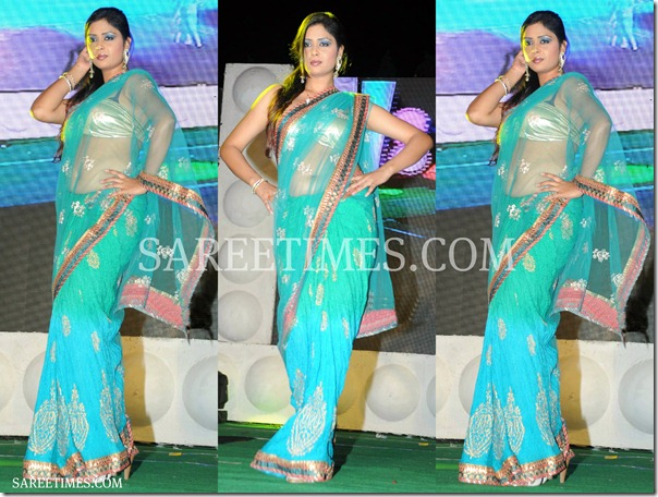 Dual_Color_Shimmer_Saree