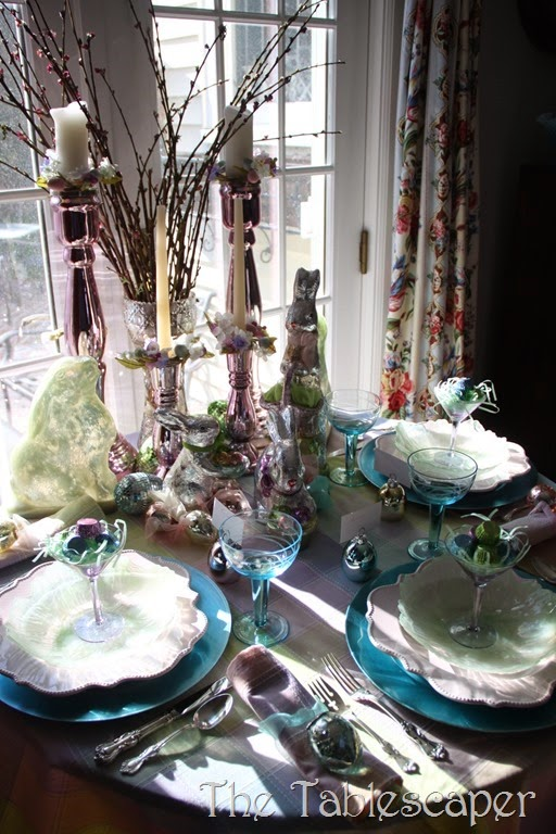 Tablescape Sparkling Easter - The Tablescaper16
