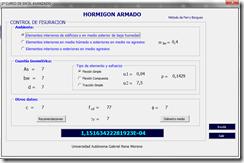 Control de fisuracion del hormigon