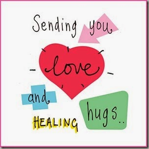 love and healing hugs