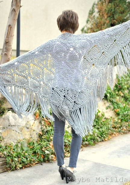 Sidewalk Shawl by Maybe Matilda