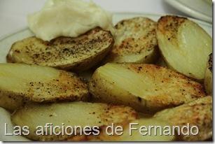 Patatas horno