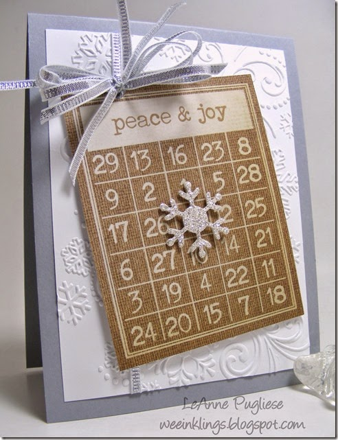 LeAnne Pugliese WeeInklings Merry Monday 104 Christmas Stampin