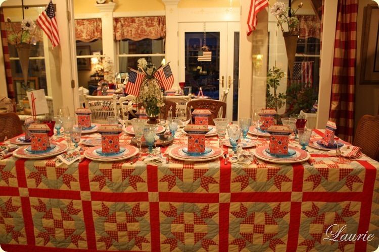 TABLE-4TH JULY