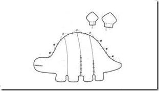 molde_estegossauro