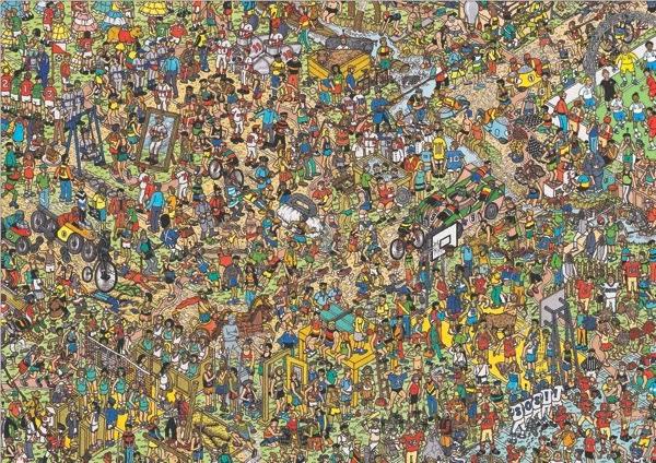 Fiestas de La Calle  Busca a Wally