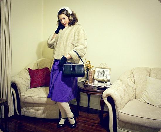 Faux Fur Vintage Style - Depict This