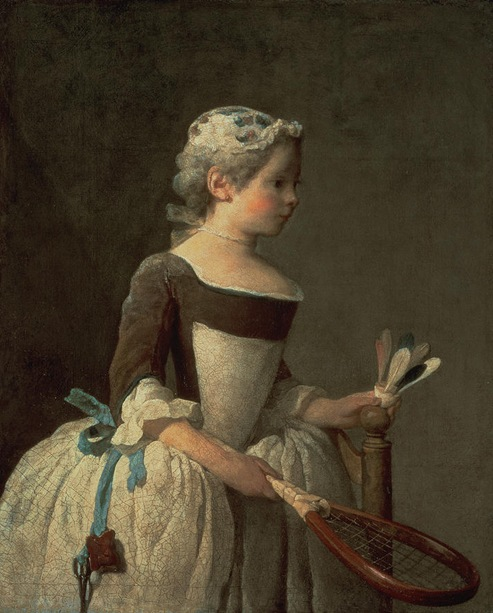 girl-with-racket-and-shuttlecock-jean-baptiste-simeon-chardin