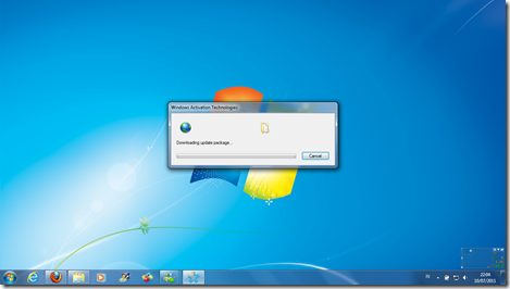 Validasi Windows 7.1