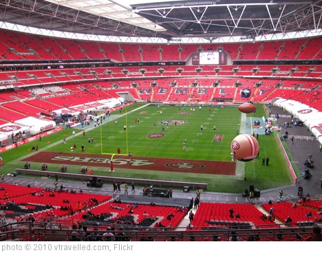 '2010 NFL International Series Game' photo (c) 2010, vtravelled.com - license: http://creativecommons.org/licenses/by/2.0/