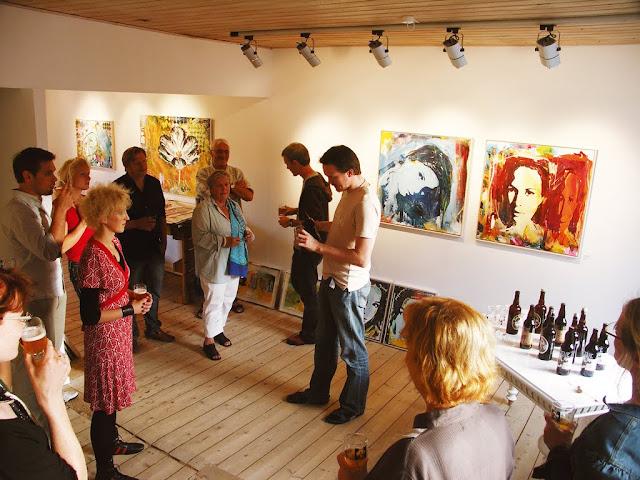 Kunstforedrag og ølsmagning på 1. sal - 2007