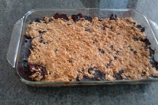Juicy Berries, Crunchy Crumble... Michelle did a great job!