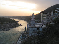 Sunset over the Ganges - Rishikesh, Uttarakhand