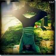 fun headstand