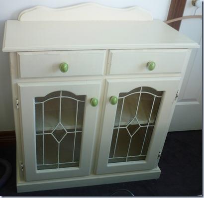 leadlight cupboard