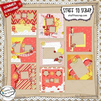 Summer Sunshine Quickpages