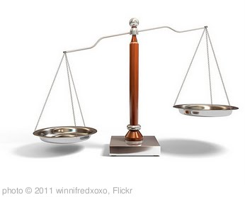 'balance scale' photo (c) 2011, winnifredxoxo - license: http://creativecommons.org/licenses/by/2.0/