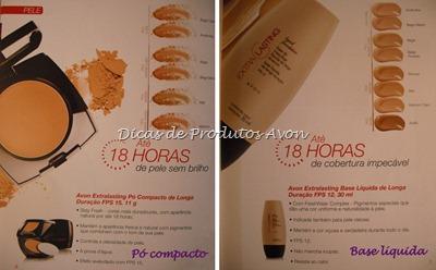 Maquiagem Extra lasting - 18h de cobertura na pele