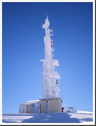 Cap de Baqueira 2466m desde Parking Orri con esquis (Baqueira, Valle de Aran, Pirineos) 2949