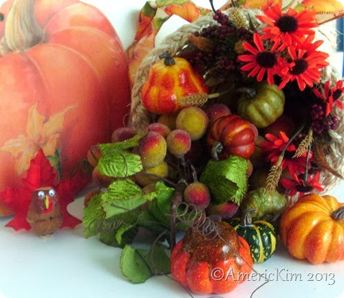 Nutty Turkey and Cornucopia