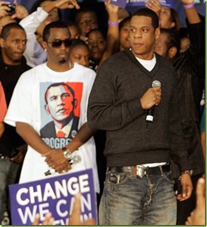rappers for obama