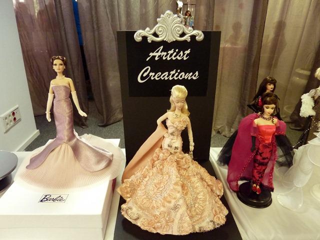 Madrid Fashion Doll Show - Barbie Artist Creations 1