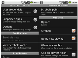 Simple Last.fm Scrobbler 1.3.7 apk
