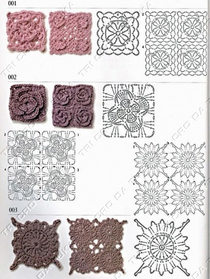 padrão crochê