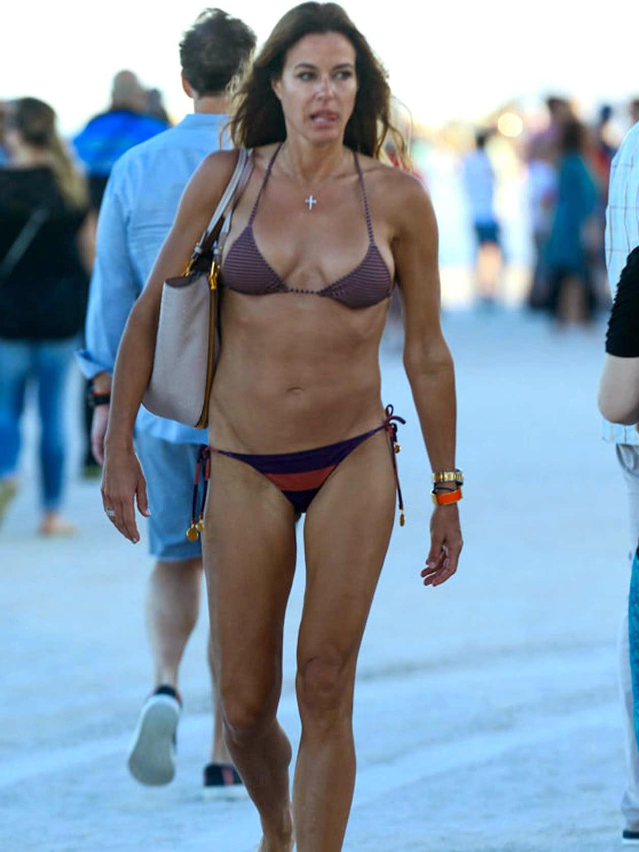 Kelly Bensimon Bikini In Miami Icelev Com Sceleb Com