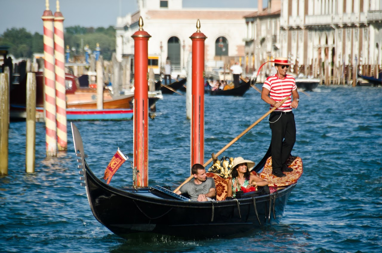 Venice gondolier