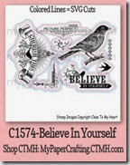 CTMH c1574-Believe in Yourself-200