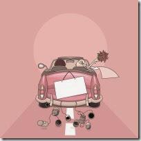 dibujos divertidos coches de boda (15)