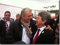 Pierre Laurent et Jean Luc Mlenchon