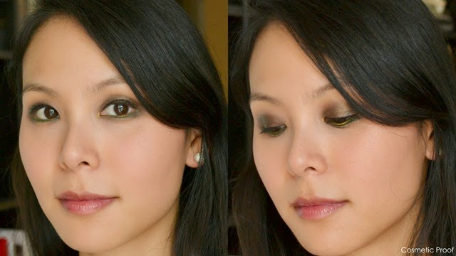 Vasanti Lake Palace Silky Eye Shadow Duo Makeup Look