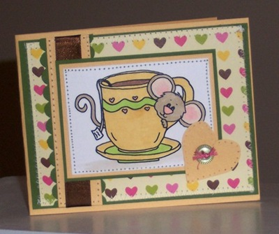 SNS tea cup