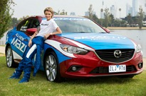 Mazda6 Celebrity Challenge title at the 2013 Formula 1 Australian Grand Prix