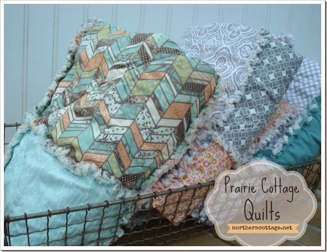 {Northern Cottage} prairie cottage quilts