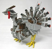 Lego mecha turkey