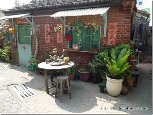 小巷子的古意老房子