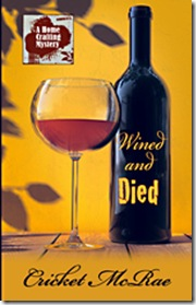 wined and died large print