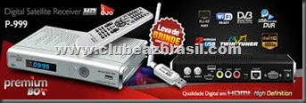 PREMIUMBOX P999 HD WIFI NOVA ATUALIZAÇÃO - V 1.34K